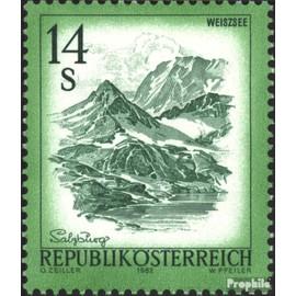 Autriche 1696 (complète.Edition.) timbres prémier jour 1982 timbres Paysages