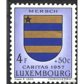 Luxembourg 579 neuf avec gomme originale 1957 luxembourg Crest