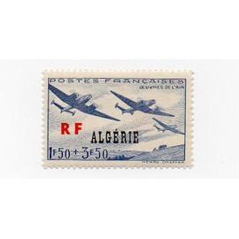 Algérie ( Département français)- 1 timbre neuf- Oeuvre de l