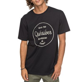 T-shirt Quiksilver Morning Slides black