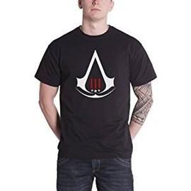 T-shirt assassins creed III noir logo blanc et rouge neuf jamais porté