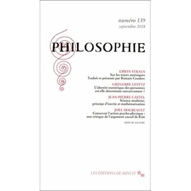 Philosophie N° 139, Septembre 2018 - Dominique Pradelle