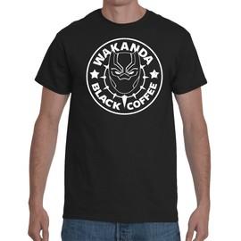 T-shirt Black Panther Café