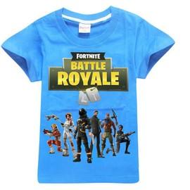 Fortnite Vêtements T-Shirt en Coton Enfant Manches Courte
