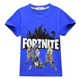 deadde62290a4 Fortnite Vêtements T-Shirt En Coton Enfant Manches Courte