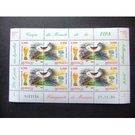 MONACO 2006 Coupe de Monde de la FIFA Yvert 2539 / 40 ** MNH