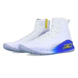 051ee86431f7 Under Armour Hommes Curry 4 Basketball Chaussures De Sport Baskets Blanc