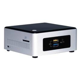 Intel Next Unit of Computing Kit NUC5CPYH - Barebone - mini PC - 1 x Celeron N3050 / 1.6 GHz - HD Graphics - GigE - LAN sans fil: 802.11a/b/g/n/ac, Bluetooth 4.0 LE