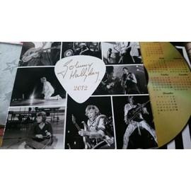 Johnny Hallyday calendrier poste