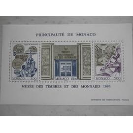 """PLANCHE DE 3 TIMBRES """"PRINCIPAUTE DE MONACO"""""""