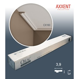 1 carton complet 10 Corniches Moulures Cimaises 20m Orac Decor CX160 AXXENT