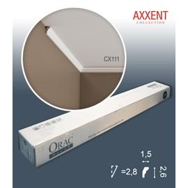1 carton complet 10 Corniches Moulures Cimaises 20m Orac Decor CX111 AXXENT