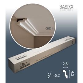 1 carton complet 10 Corniches Moulures Cimaises 20m Orac Decor CB531 BASIXX