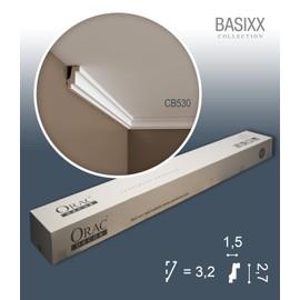 1 carton complet 10 Corniches Moulures Cimaises 20m Orac Decor CB530 BASIXX