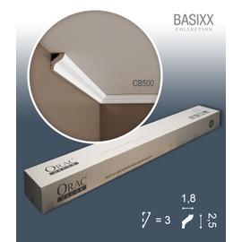 1 carton complet 10 Corniches Moulures Cimaises 20m Orac Decor CB500 BASIXX