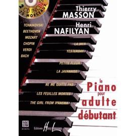 Le Piano Pour Adulte Débutant - (2cd Audio)