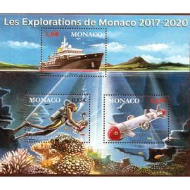 Les Explorations de Monaco 2017-2020