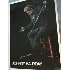 AFFICHE JOHNNY HALLYDAY
