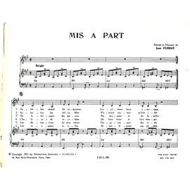 Mis a part. Jean Ferrat. A 48