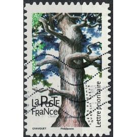France 2018 Oblitéré Used Arbres Chêne pédonculé Quercus robur