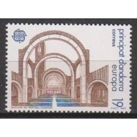 Andorre Espagnol Europa 1987 19