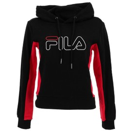 99024e7723a23 Sweat Capuche Hooded Fila Gladden Noir Rge Lady Noir 50655