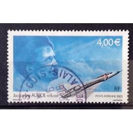 Aviatrice Jacqueline Auriol 4,00€ (Très Joli Aérienne n° 66) Obl - Cote 4,00€ - France Année 2003 - N10121