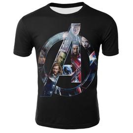 Marvel legends Super Hero Vêtements T-Shirt Homme Manches Courte Col Rond Ete