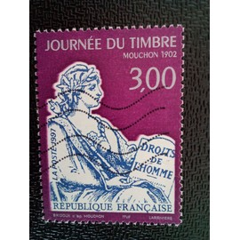 timbre FRANCE YT 3052 Type Mouchon 1997