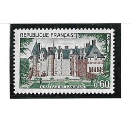 Château de Langeais (1968) 0,60 frcs