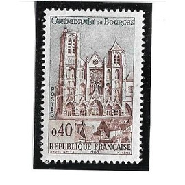 Cathédrale de Bourges (1965) 0,40 frcs