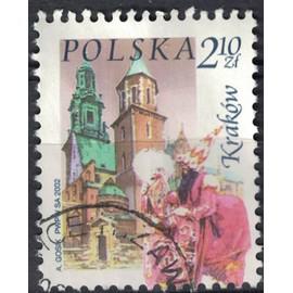 Pologne 2002 Oblitéré Used Wawel Basilique cathédrale Saints Stanislas et Venceslas de Cracovie SU