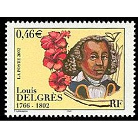 timbre Louis Delgrès 1766-1802 (emission de 2002)