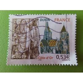 Timbre France YT 3893 - Série touristique - Dijon (Côte d