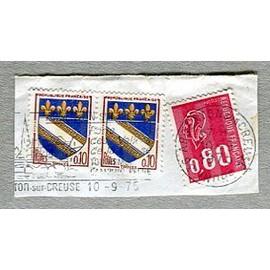 Lot De Timbres Oblitérés - Armoiries Ville De Troyes - 1963
