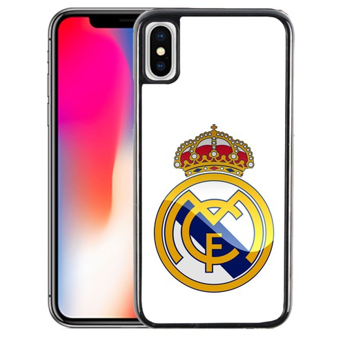 Coque pour iPhone X logo real madrid