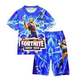 53a7c6c8a585a Fortnite Ensemble De Vetement Enfant Garçon 2 Pieces T-Shirt Short Imprimé