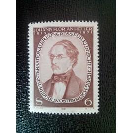 timbre AUTRICHE YT 1505 11ème congrès international de chimie clinique 1981 ( 18412 )