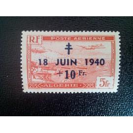 timbre ALGERIE YT PA 8 Poste Aerienne 1948 ( 19412 )