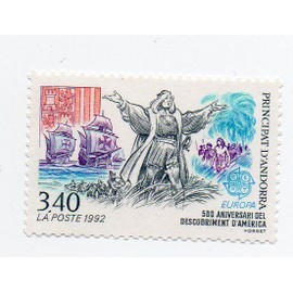Andorre- 1 timbre neuf- Découverte de l