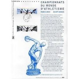 COLLECTION Historique du timbre poste francais CHAMPIONNATS DU MONDE D