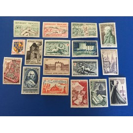 18 timbres neufs * 1952/54 Lot 901d