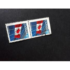 drapeau canadien Timbre Canada 1995 tp3