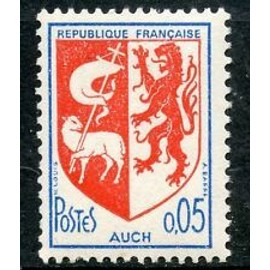 Timbres France 1966 Neuf ** YT N° 1468 Blason AUCH