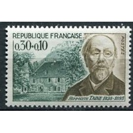 Timbres France 1966 Neuf ** YT N° 1475 Hippolyte TAINE