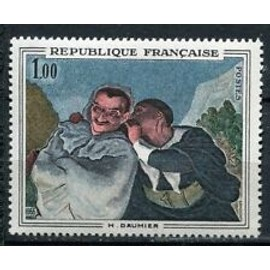 Timbres France 1966 Neuf ** YT N° 1494 H. DAUMIER