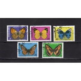 Timbres-poste de Djibouti (Papillons)