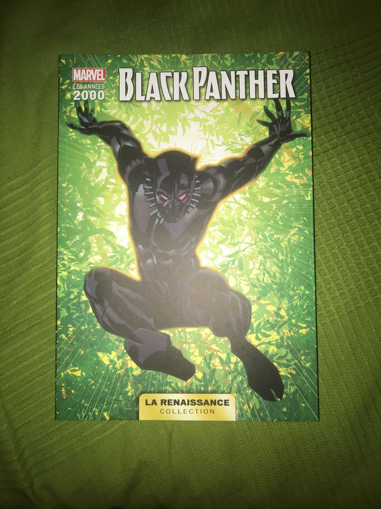 LA RENAISSANCE DES HEROS MARVEL T02 - BLACK-PANTHER