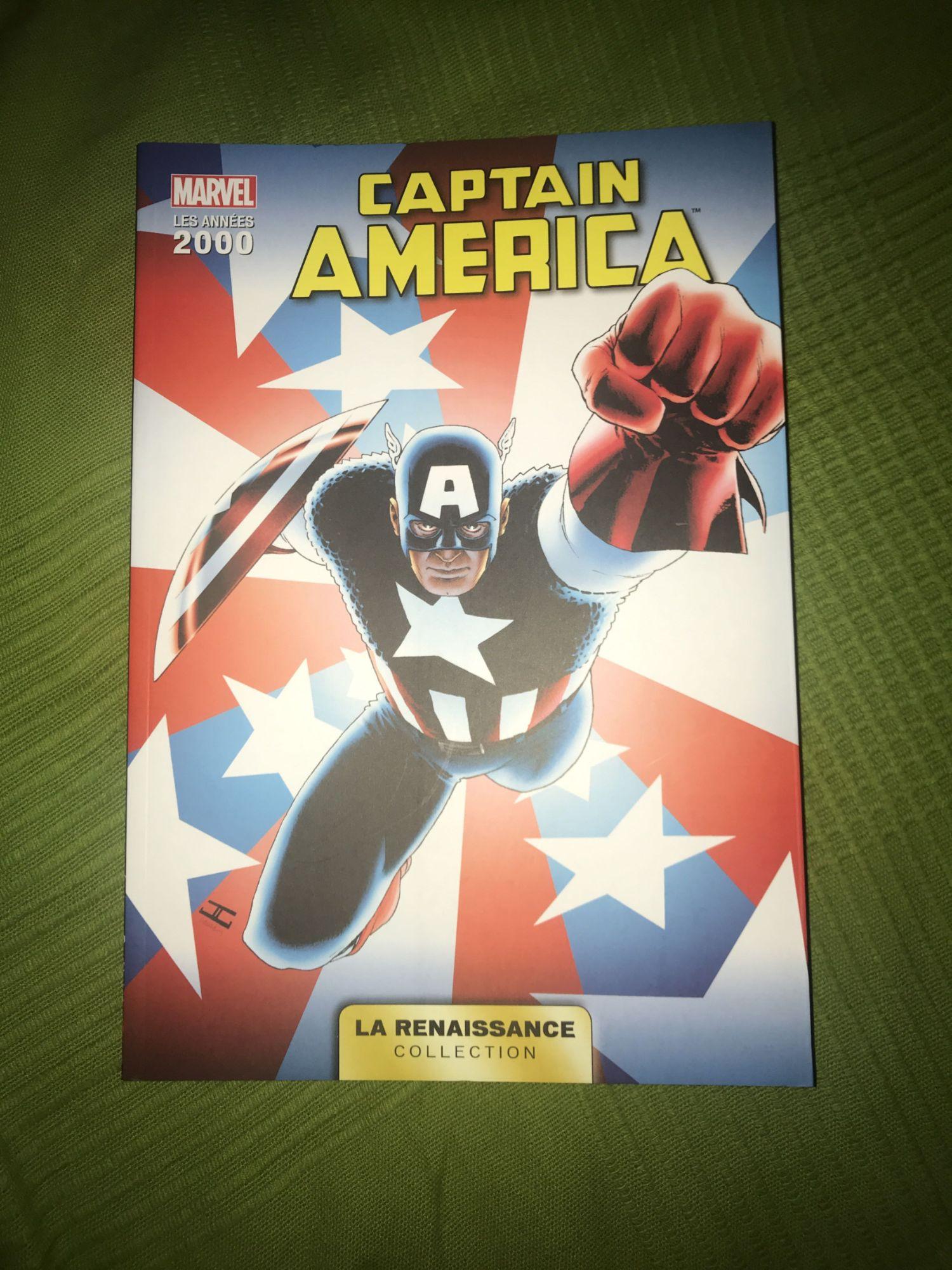 LA RENAISSANCE DES HEROS MARVEL T04 - CAPTAIN AMERICA