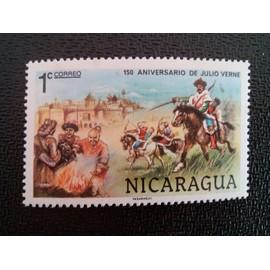 timbre NICARAGUA YT 1104 Michael Strogoff 1978 ( 6612 )